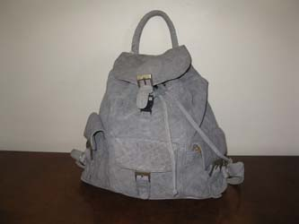 Elephant Leather Ruck Sack