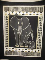Hand Painted Wall Hanging