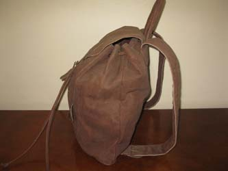 Buffalo Leather Ruck Sack