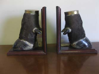 Foot Book Ends