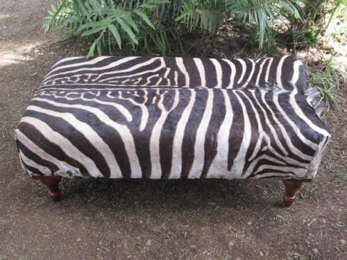 Zebra Skin Otteman (2)