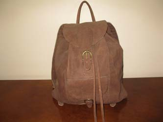 Buffalo Leather Ruck Sack