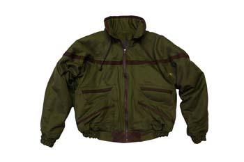 Bush Jacket - Canvas & Leather trim