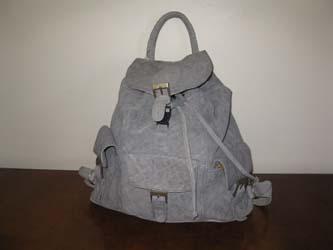 Elephant Leather Ruck Sack