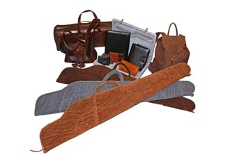 Various Leather Items