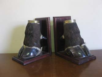 Foot Book Ends (2)