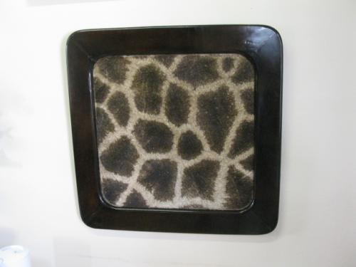 Picture Frames with animal Skin Insert (1)